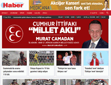 Tablet Preview of habergazetesi.com.tr